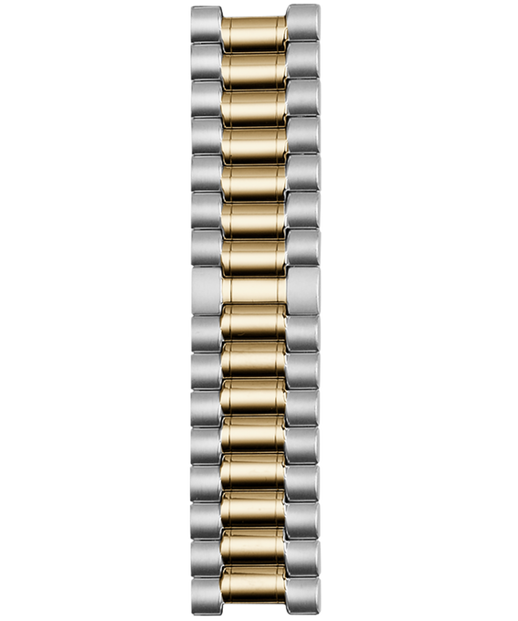 18mm Two Tone Stainless Steel Strap Two-Tone large
