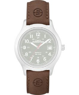 Replacement 39mm Leather Strap for Expedition Traditional Brown large