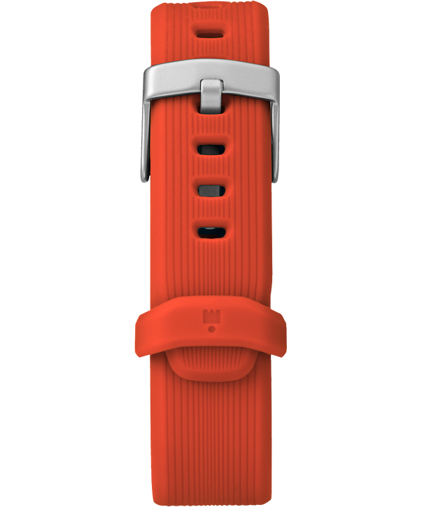 21mm Silicone Strap Orange large