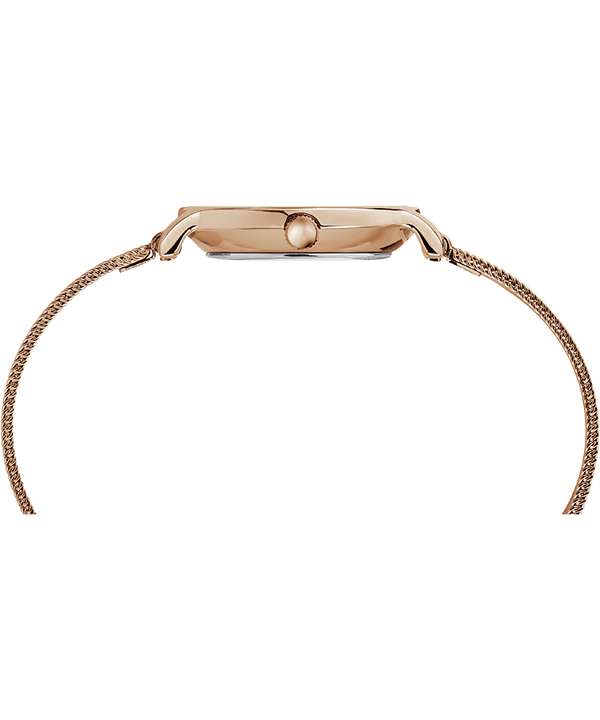 Milano Oval 24mm Mesh Band Watch Rose-Gold-Tone large