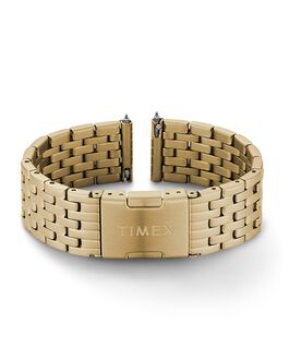 18mm Quick Release Stainless Steel Bracelet Gold-Tone large