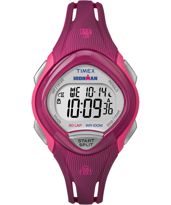 IRONMAN Sleek 30 Mid-Size 35mm Resin Strap Watch Pink large