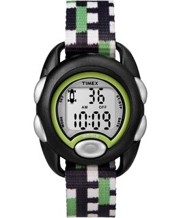Kids Digital Watch with Nylon Strap Black/Gray large