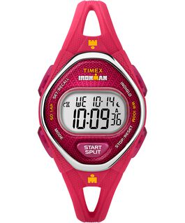 IRONMAN Sleek 50 Mid-Size 34mm Silicone Strap Watch Pink large