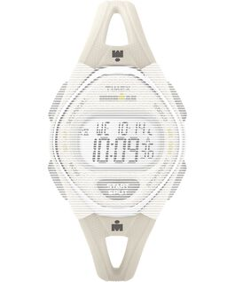 Replacement 14mm Silicone Strap for IRONMAN Sleek 50 Mid-Size White large