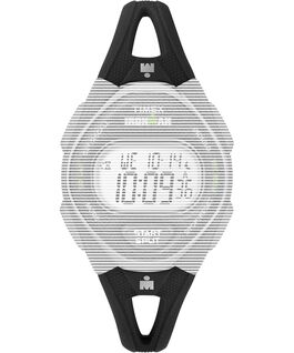 Replacement 14mm Silicone Strap for IRONMAN Sleek 50 Mid-Size Black large