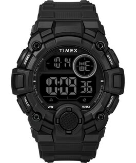 A Game DGTL 50mm Silicone Strap Digital Watch Black large