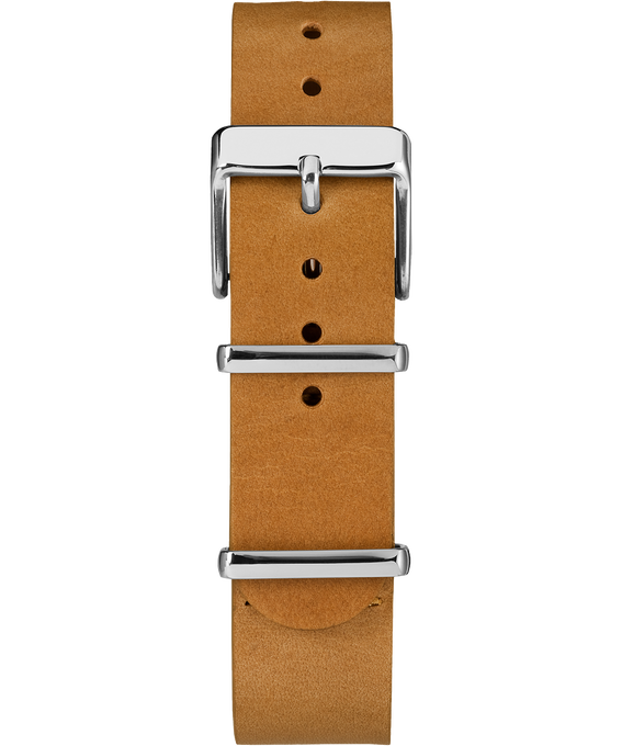 20mm Slip Thru Leather Strap 2 Tan large