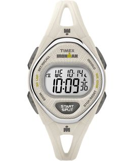 IRONMAN Sleek 50 Mid-Size 34mm Silicone Strap Watch White large
