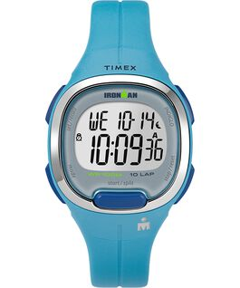 Ironman Transit 10 33mm Mid-Size Resin Strap Watch Blue/Silver-Tone large