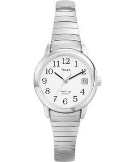 Easy Reader 25mm Stainless Steel Watch Silver-Tone/Stainless-Steel/White large