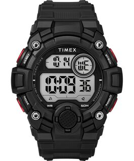 A Game DGTL 50mm Silicone Strap Digital Watch Black/Red large