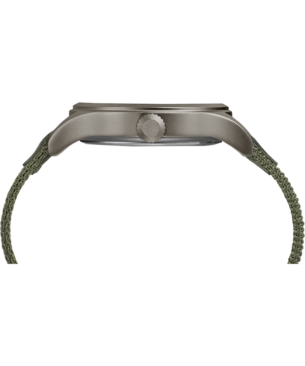 Expedition Scout 40mm Fabric Strap Watch Gray/Green large