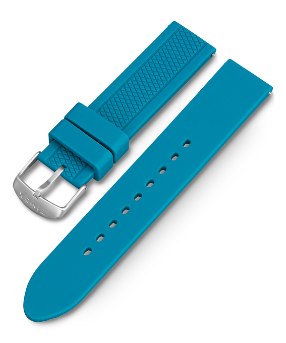 Ironman GPS Resin Replacement Strap Teal large