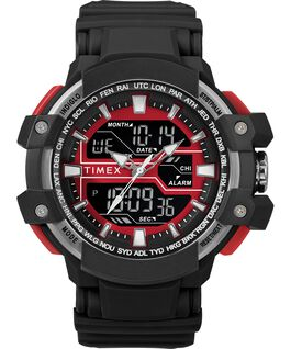 Tactic DGTL 50MM Resin Strap Combo Watch Black/Red large