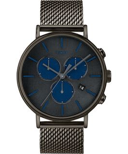 Fairfield Supernova 41mm Mesh Bracelet Watch Gray large