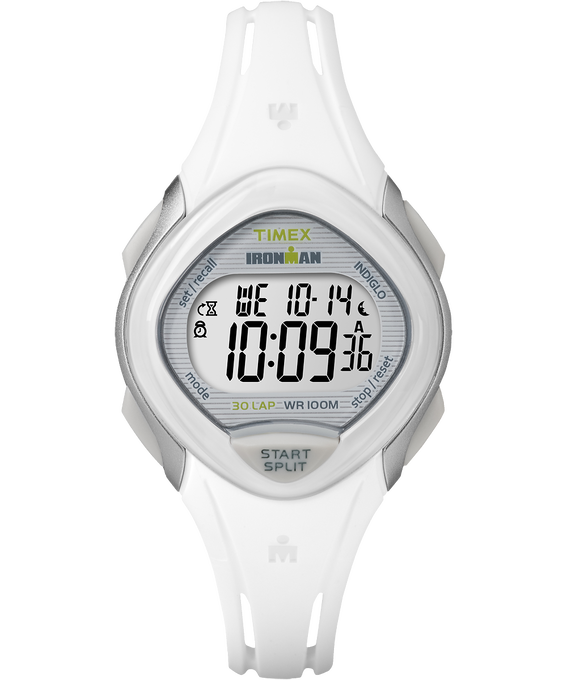 IRONMAN Sleek 30 Mid-Size 35mm Resin Strap Watch Gray/White large