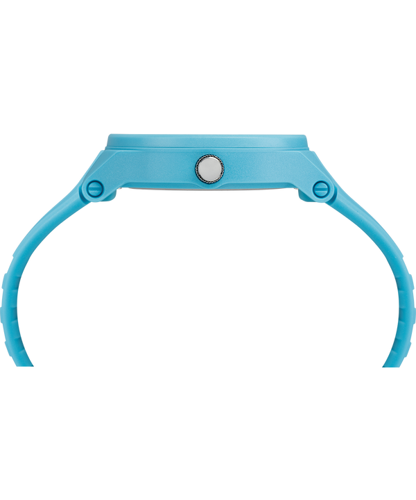 IRONMAN Essentials 38mm Silicone Strap Watch Blue/Green large