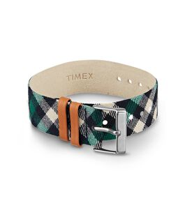 Plaid Replacement Strap Green large