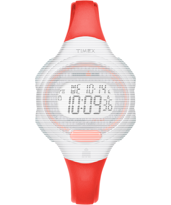 Replacement 12mm Resin Strap for Ironman® Essential 10 Mid-Size Orange large