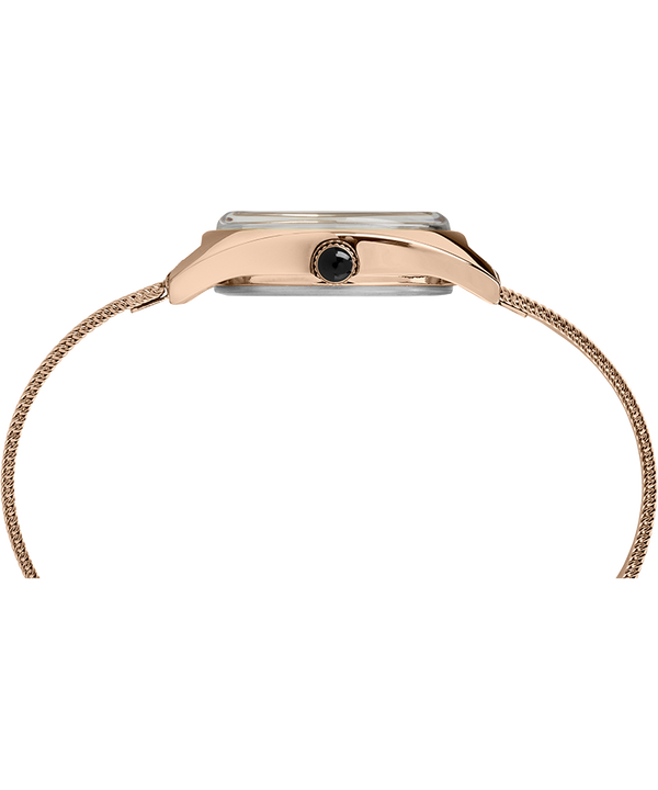 Milano Petite 24mm Stainless Steel Mesh Band Watch Rose-Gold-Tone/Silver-Tone large