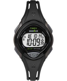 IRONMAN Sleek 30 Mid-Size 35mm Resin Strap Watch Gray/Black large