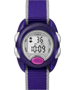 Youth Digital 34mm Fabric Strap Watch Purple large