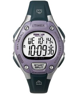 IRONMAN Classic 30 Mid-Size 34mm Resin Watch Silver-Tone/Black/Purple large