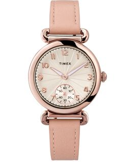 Model 23 33mm Leather Strap Watch Rose-Gold-Tone/Pink/Silver-Tone large