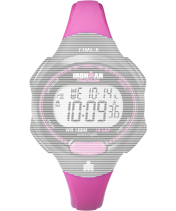 Replacement 12mm Resin Strap for Ironman® Essential 10 Mid-Size Pink large